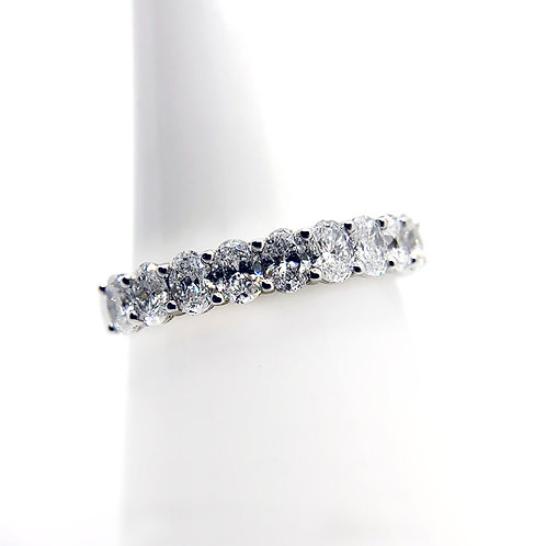 18K 1.33cttw Diamond Wedding Band