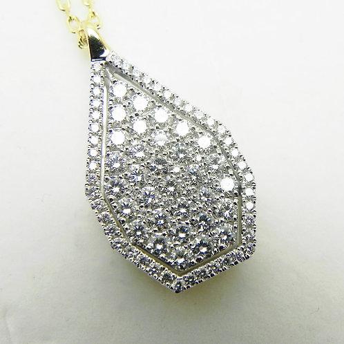 "14k Diamond ""Firenze II"" Pendant"
