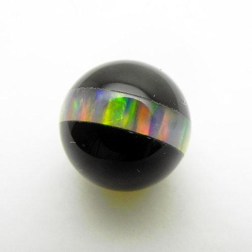 Gilson Opal and Black Onyx