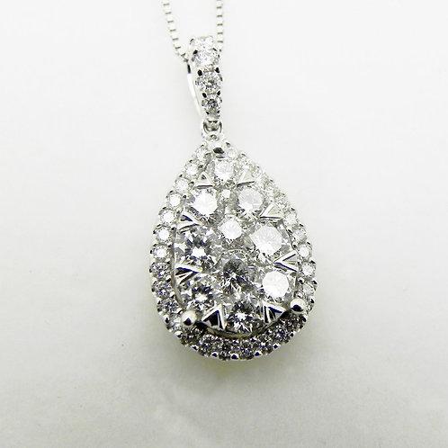 14k Diamond Lovebright Pendant