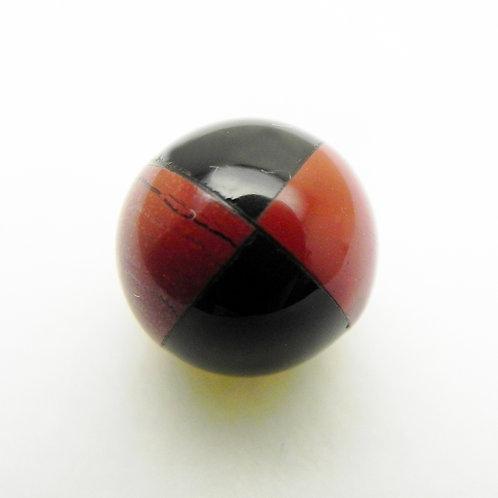 Onyx and Red Jasper Beach Ball