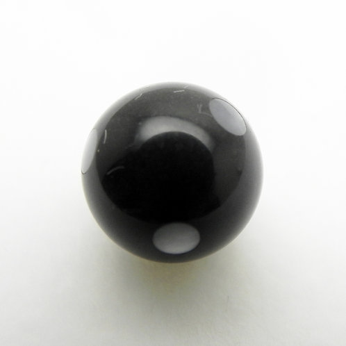 Onyx and Mother of Pearl Dots