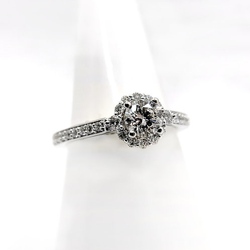 14k 1.05cttw Diamond Engagement Ring