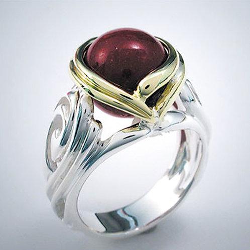 "Art Nouveau ""Arnovia"" Ring"