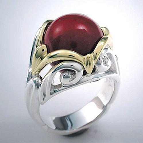 """Art Nouveau """"Dauphine"""" Ring"""