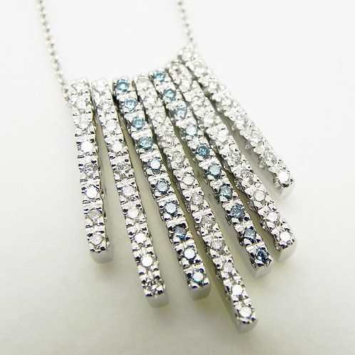 "18k Diamond ""Icicle"" Pendant"