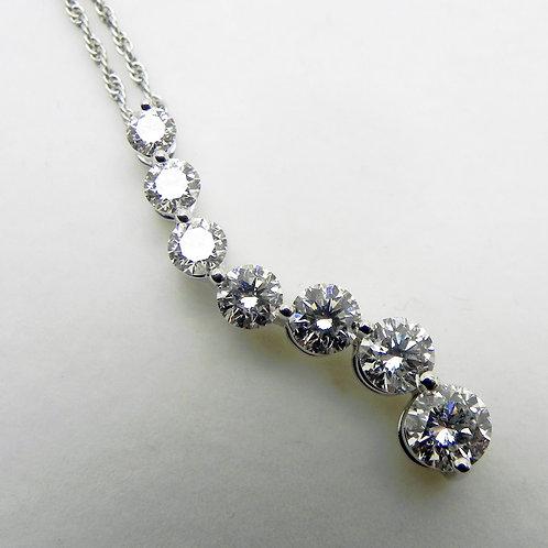 14k Diamond Journey Pendant