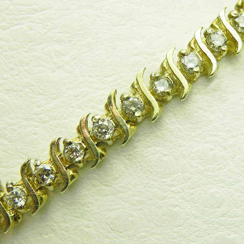 14k Diamond Tennis Bracelet [ESTATE]