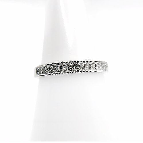10K .20cttw Diamond Wedding Band