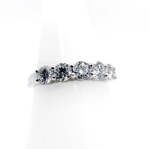 14K 1.00cttw Diamond Wedding Band