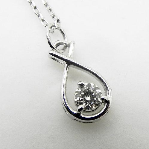 18k Lazare Diamond Pendant