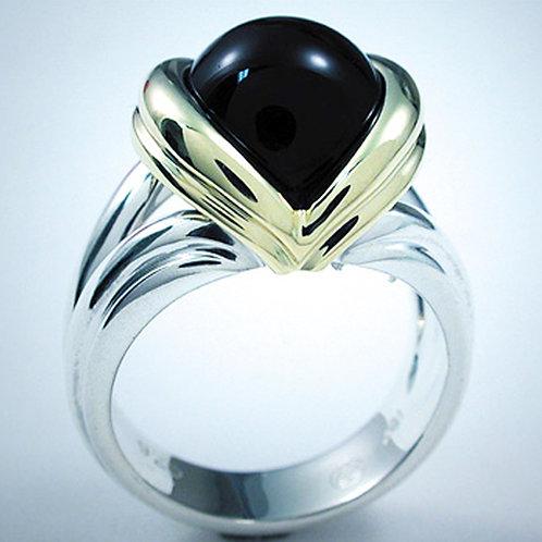 Fluted V Ring