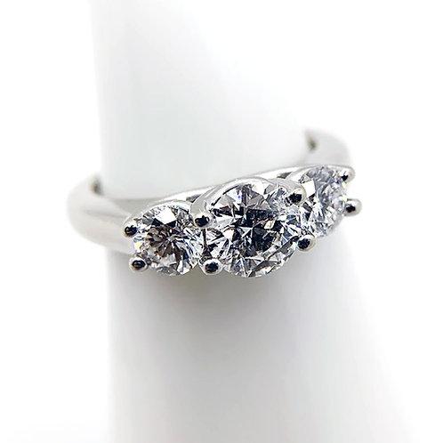 14k 1.39cttw Diamond Engagement Ring