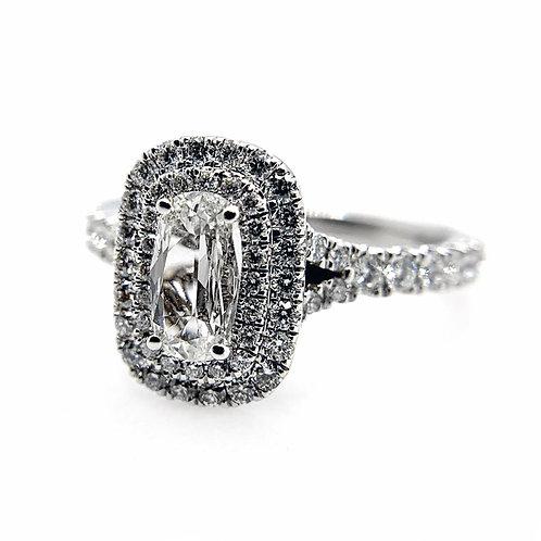14k 1.10cttw Diamond Engagement Ring
