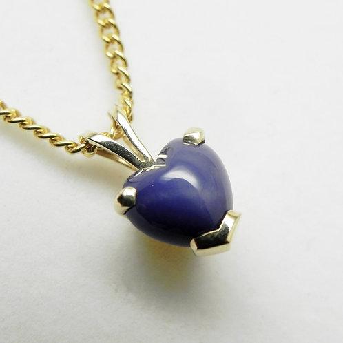 14k Linde Star Sapphire Pendant