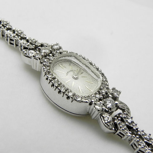 Ladies Diamond Hamilton Watch [ESTATE]
