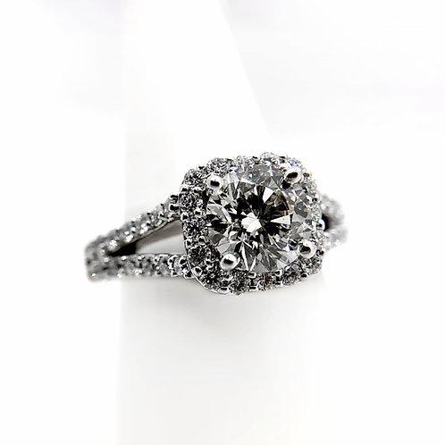 14k 2.66cttw Diamond Engagement Ring