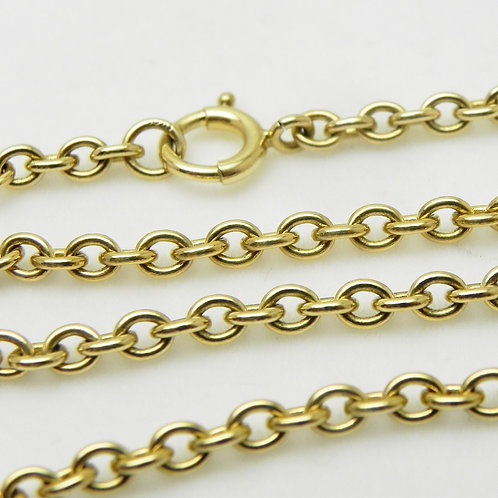 14k Gold Cable Chain [ESTATE]