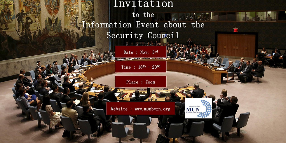 Information Event about the Security Council