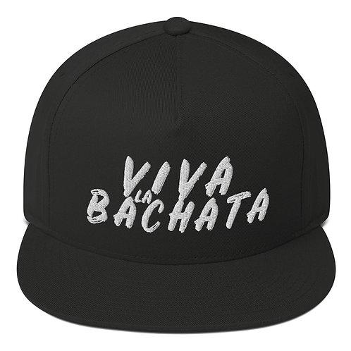 Viva La Bachata Black + White Baseball Hat