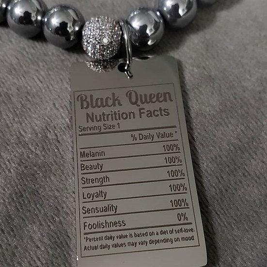 Hematite Black Queen Bracelet