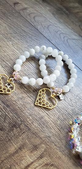 Moonstone Love Bracelet