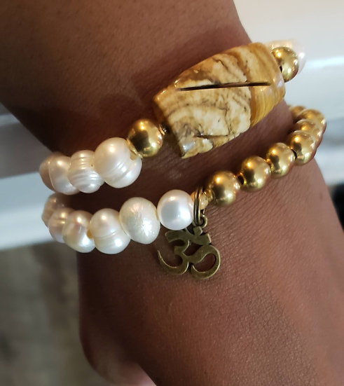 Pearl and Jasper Stack