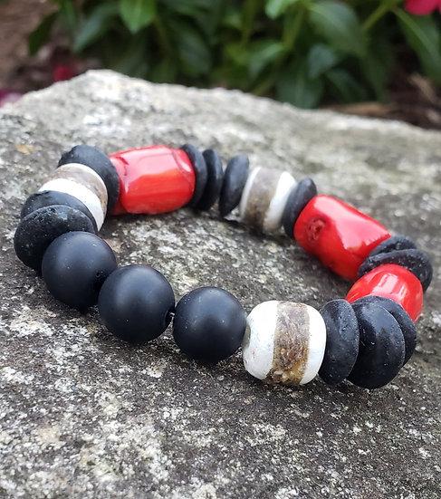 Coral Mix-It-Up Bracelet