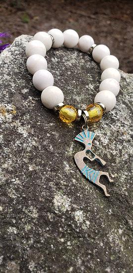 Sandstone Kokopelli Bracelet