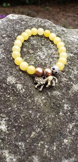 Yellow Jade Stacker