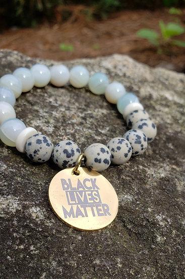 Dalmatian Jasper Black Lives Matter