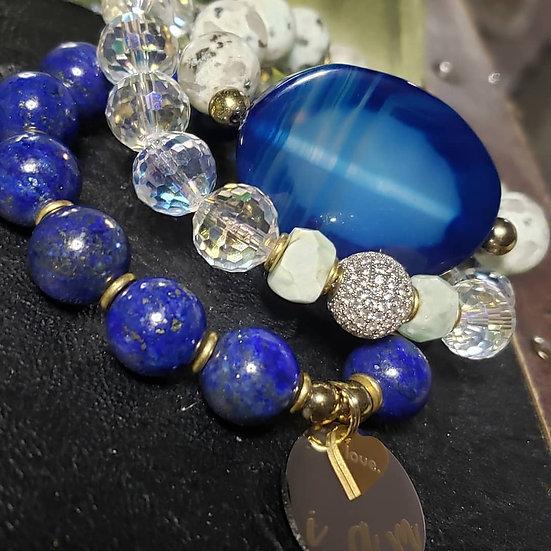 Agate Slab Statement Bracelet