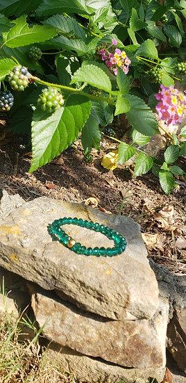 Green Crystal Stacker