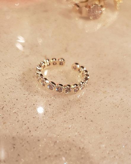 Gold-Filled Minimalist Diva Ring