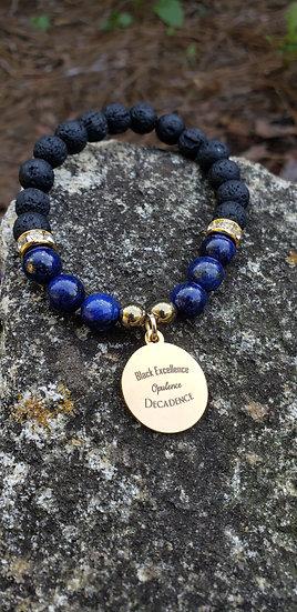 Lapis Lazuli Black Excellence Bracelet