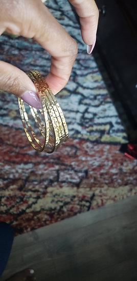 Gold-Filled Bangles