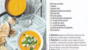 Soupe de saison // Carottes & Quinoa