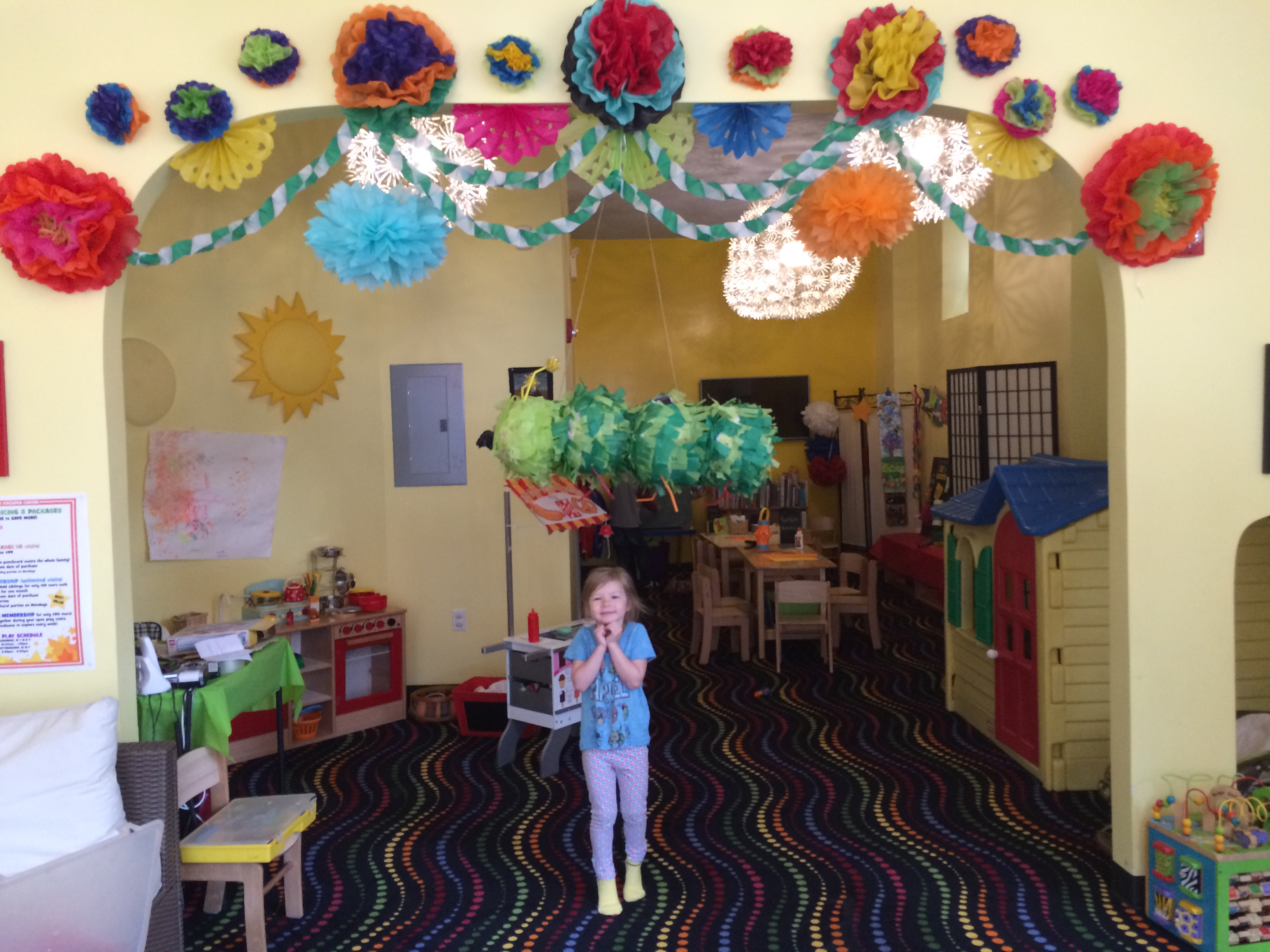 1c CHICKPEA Cinco de Mayo tissue paper flowers