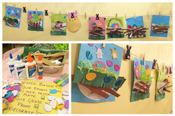 3c Chickpea Easter Crafts