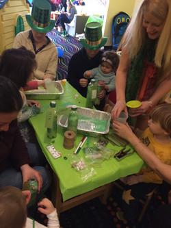 2 Chickpea St. Patricks Party Craft