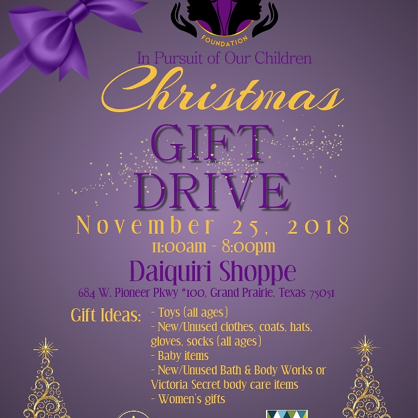 G2G Christmas Toy Drive