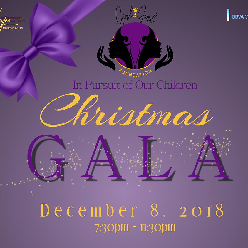 """""""In Pursuit of Our Children""""    Christmas Gala"""