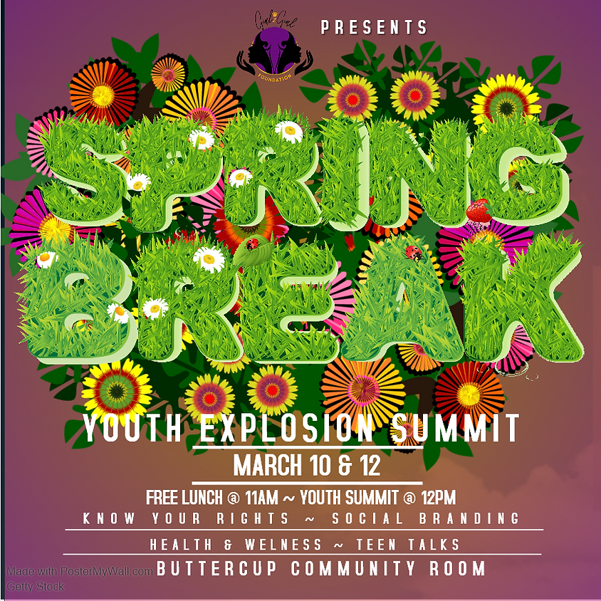 Spring Breack Youth Explosion