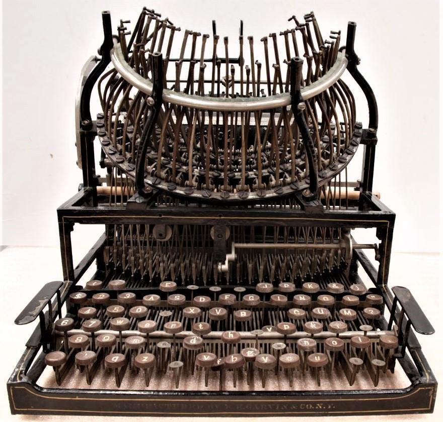 Horton Typewriter, Model 2