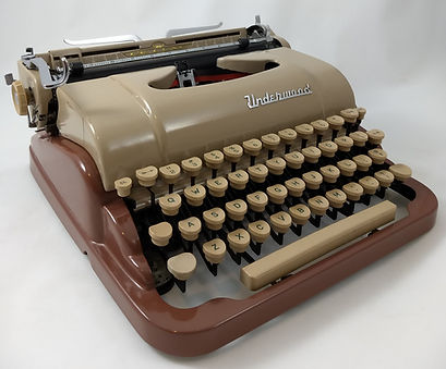 Underwood DeLuxe Quiet Tab