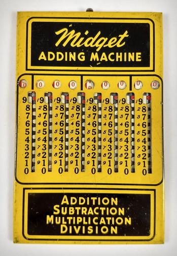 Midget Adding Machine