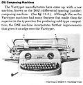 "VariTyper Third Electric Model, ""DSJ"""