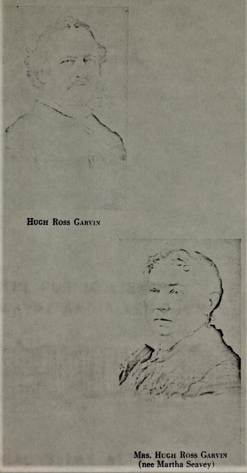 Mr. and Mrs. Hugh Ross Garvin
