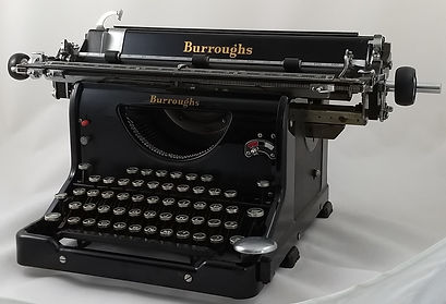 Burroughs Electric-Carriage Typewriter