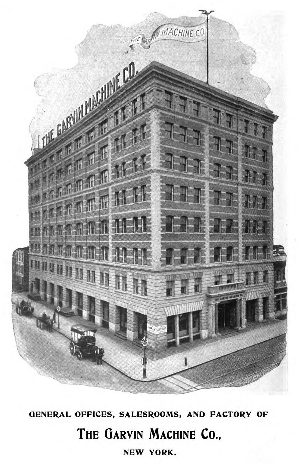 Garvin Machine Company Building